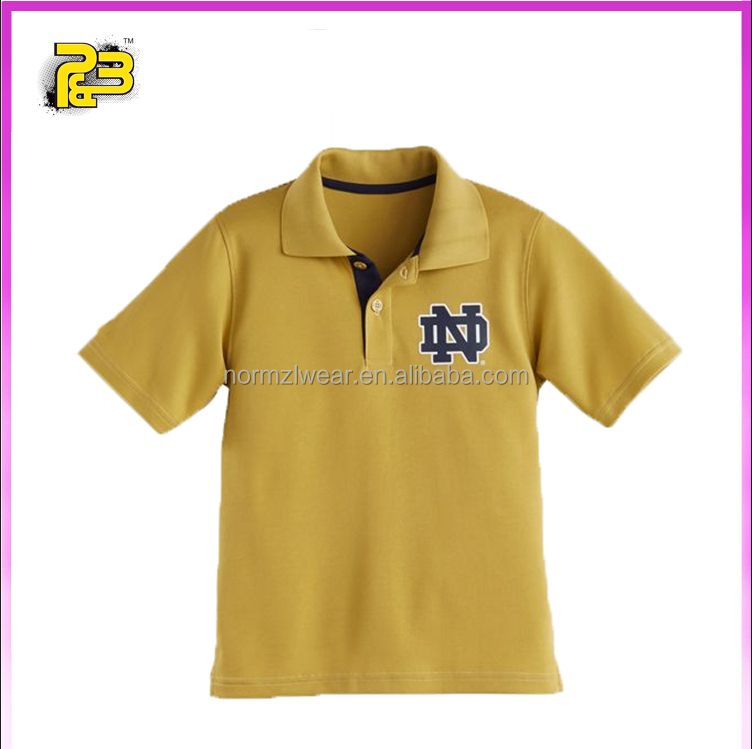 China factory custom made polo shirts size xxxxl tops kids/adults summer wear