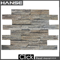 New Arrival Latest China Foshan Natural Stone Brick/eco-friendly exterior wall brick/heat resistant stone