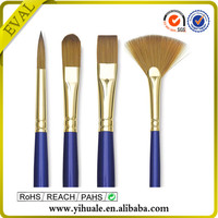 High Quality sable oil paint brush set