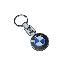 Factory supplier custom made stainless car brand logo keychain