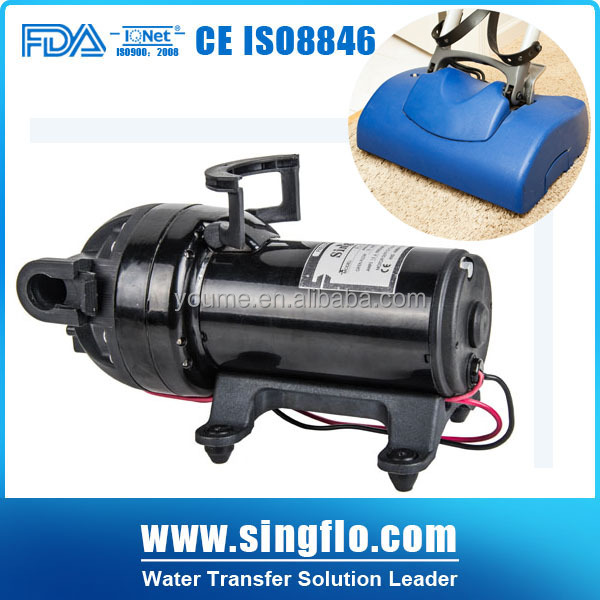 12V 200psi 10L/min self-priming high pressure automatic water jet pump for carpet cleaning
