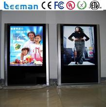 hd wifi touch screen lcd bus monitors Leeman P7.62 SMD lcd advertising display