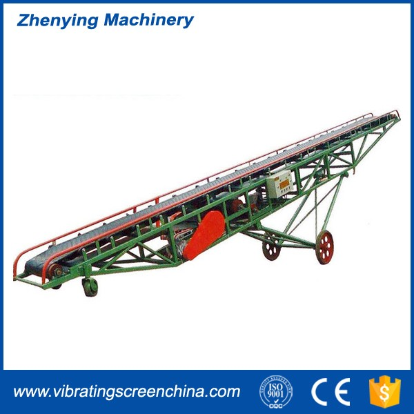 Hot sale mobile bulk specialized used rubber conveyor belt importers