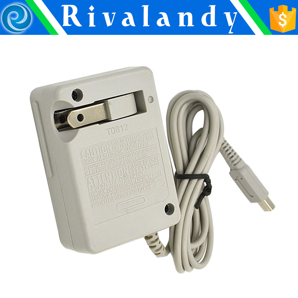 EU US UK Plug AC Power Supply Adapter Travel Charger Home Wall Charger for Nintendo DSi NDSi LL XL 3DS XL LL