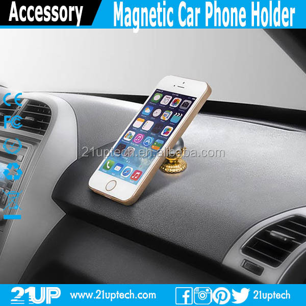 Newest Mobile Accessories Car Cell Phone Air Vent Mount Magnetic Car Phone Holder factory price OEM welcome