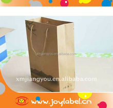 cheap brown paper bags with handles/promotional bag with logo/paper bags with handles