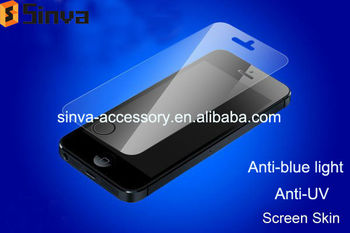 2013 New product! Anti-blue screen protector for Iphone 5S
