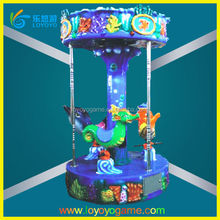 new arrival coin operated arcade spring park children amusement rides