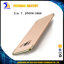 Phone accessories mobile electroplating phone back case 2017 for S8 plus