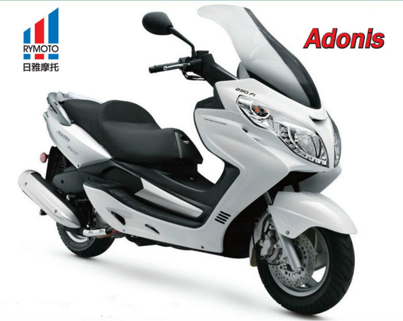 EEC APPROVED , 125CC GAS OUTDOOR SPORTS SCOOTER , ADONIS