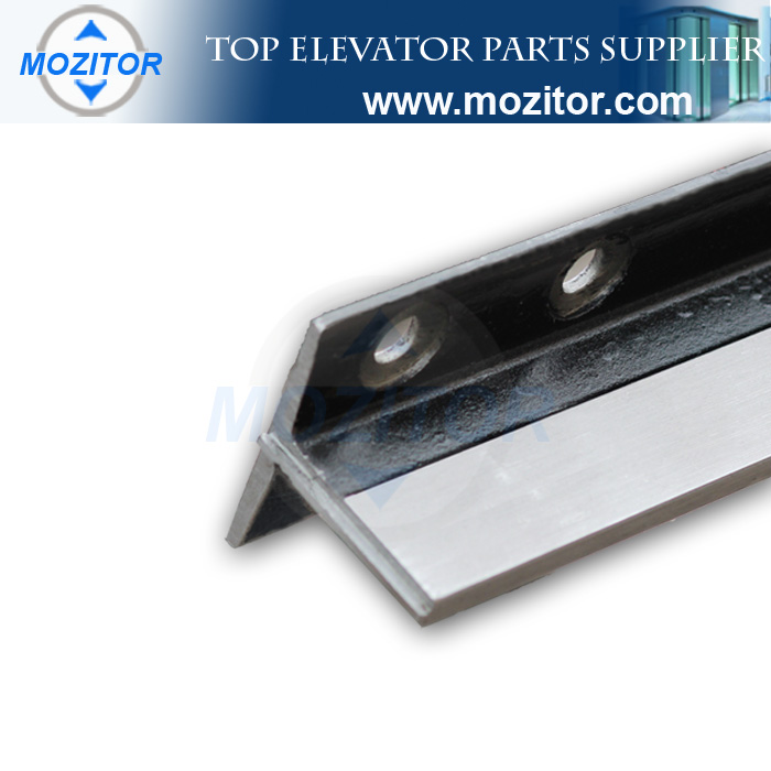 Parts spare for elevators T90/B Machined Guide Rail