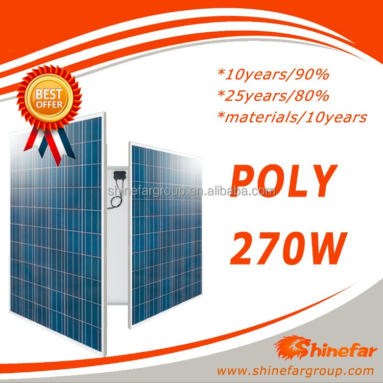 suntech solar panel price solar panel 270 solar panel poly for concentrated photovoltaic
