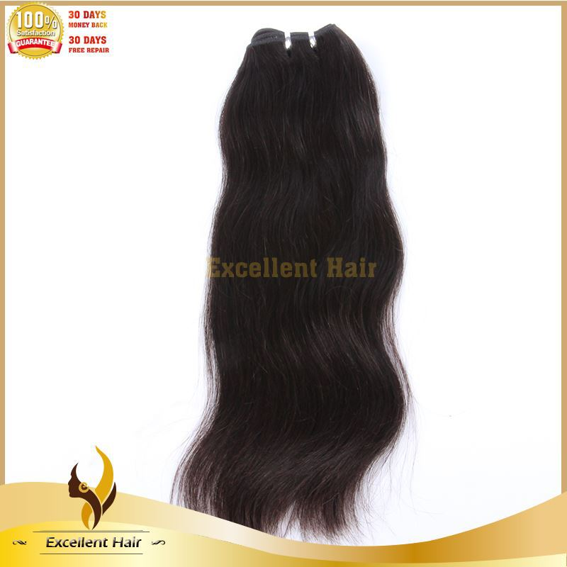 High quality super star 16 inches straight indian remy hair extensions