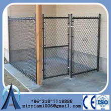 dogs use steel welded door dog kennels cages/black dog kennel