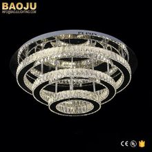 Decoration Crystal Ceiling Lights Flush Mount Light Fixture