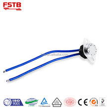 FSTB KSD301 Thermostat CQC Washing Machines Parts Termostato Thermal Fuse China Foreign Trade Export