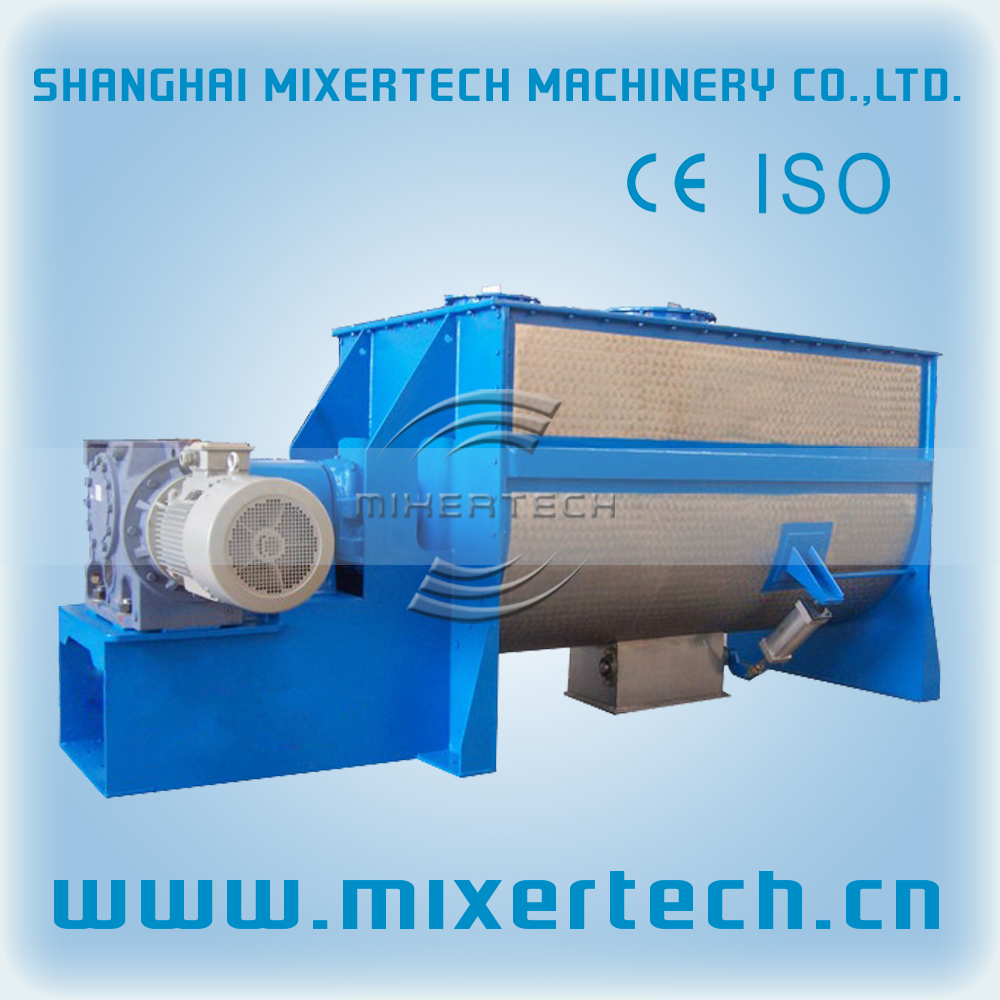 Powder fuel horizontal Ribbon Mixer