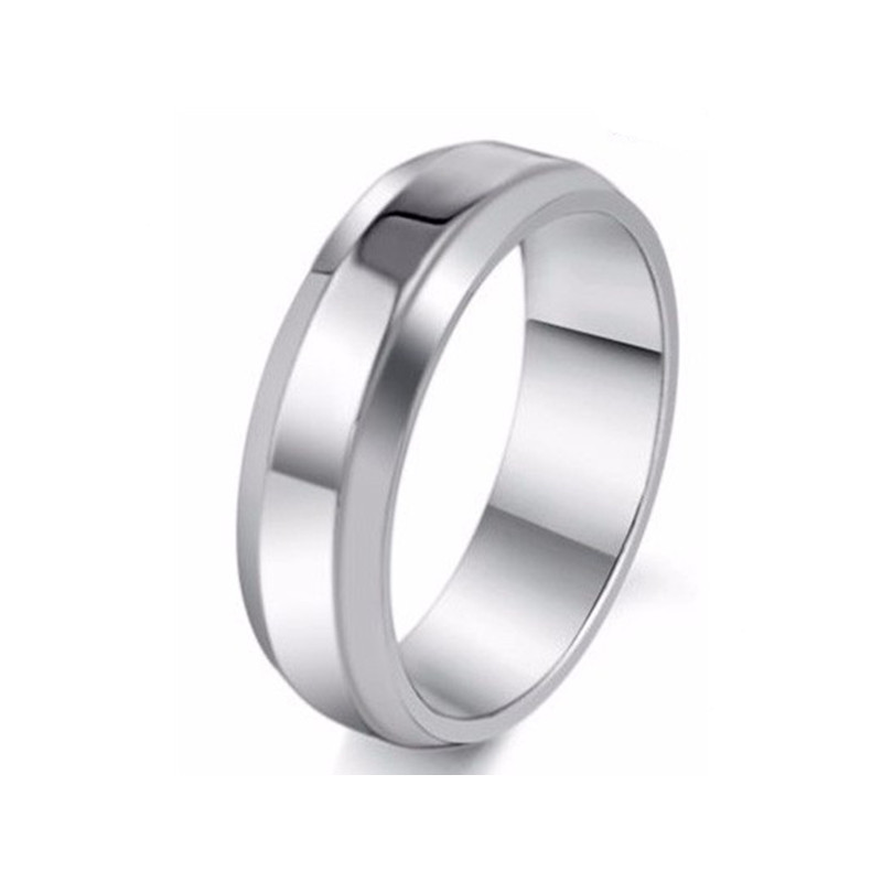 Wholesale High Quality MOONSO Handmade Men Ring Mens Expandable Wedding Ring Yemeni Aqeeq Men Ring Silver AR1588S