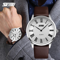 Wholesale watches genuine leather couple watch wtih fashion design
