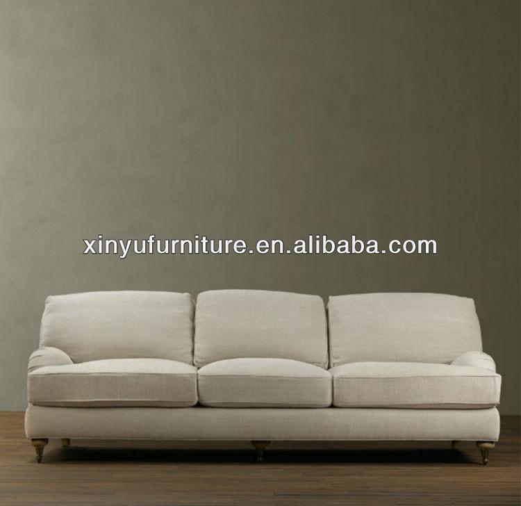 Latest Simple Design Fabric Sofa 2015 For Three Seater
