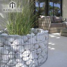 hot sale custom patio furniture garden mesh gabion stone planter basket for prices