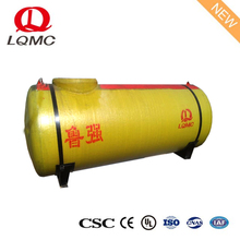 Horizontal SF 50m3 double walled gasoline storage tank