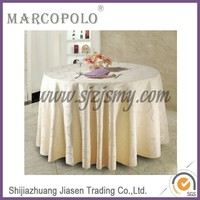 wedding tablecloth/banquet table linen /cheap beige tablecloths for wedding party