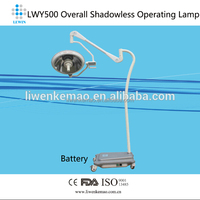 professional factory Mobile movable surgical lamp / shadowless surgical operation