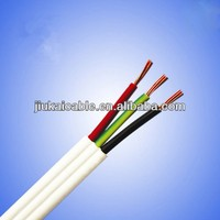 JK 450/750V Red/White 1.5mm2 2.5mm2 Twin Flat Active TPS Cable tough plastic sheathed cable flat electrical cable