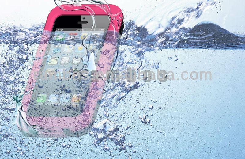 Waterproof Case Underwater Dry Bag Skin Cover for iphone 4 4s 5