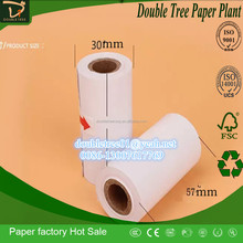 30*57mm Cash Register Paper Type Direct Glossy Thermal Paper