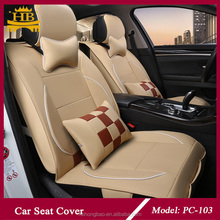 Promotional good leather hot selling car seat cover