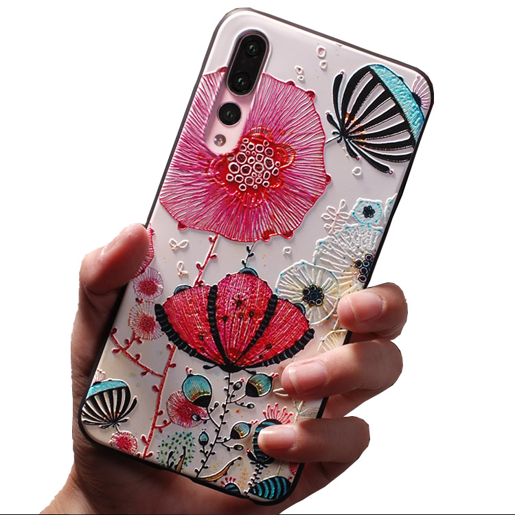 Mobile Cell Phone Case for vivo y17 y15 y12 <strong>y3</strong> cover the emboss painting customized Cover