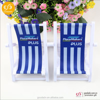 2016 beach chair shaped cell phone holder plastic cell phone holder