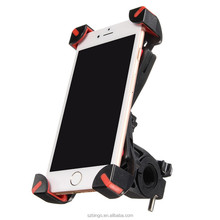 3.5-7 inch Universal Bicycle Bike Handlebar Clip Mount Stand 360 Degree Rotate ABS Mountain Bike Holder Cycling Phone Holder
