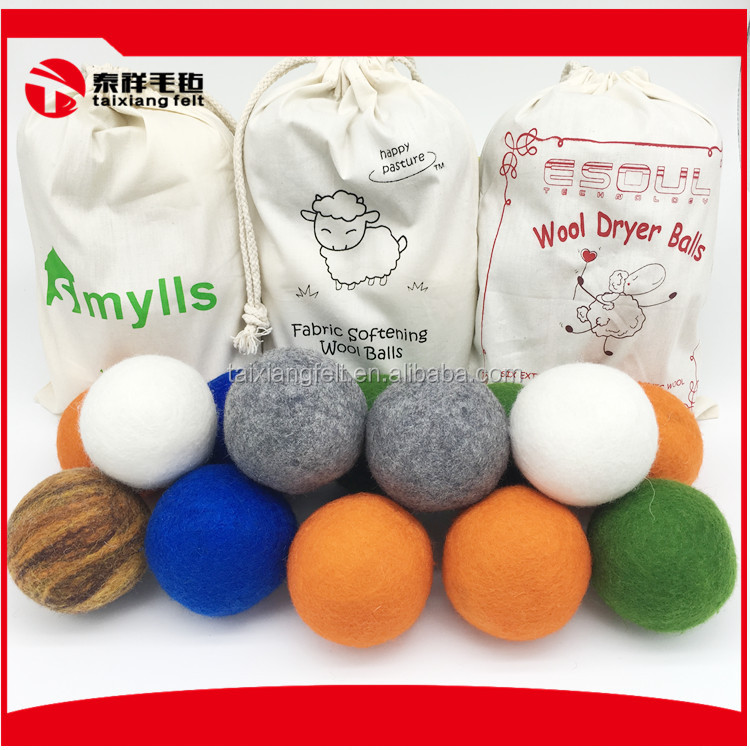 Wool Felted Dryer Balls 2017 amazon top seller