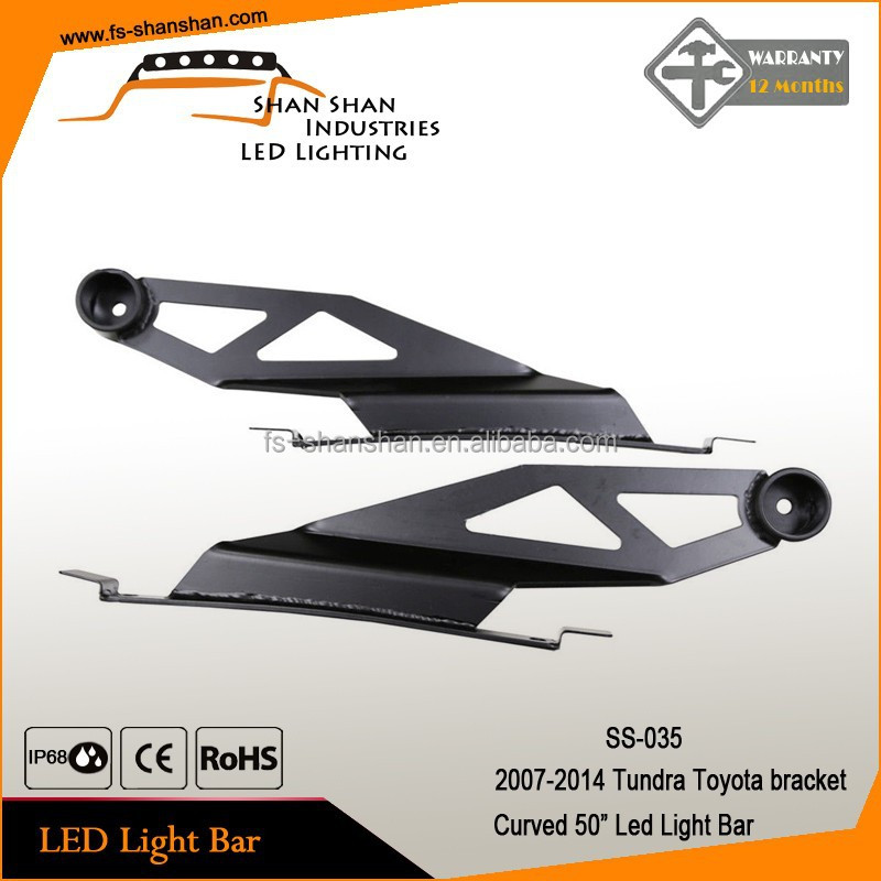 Factory direct wholesale Trucks led bar light Stainless steel mounting bracket for 07-14 TUNDRA