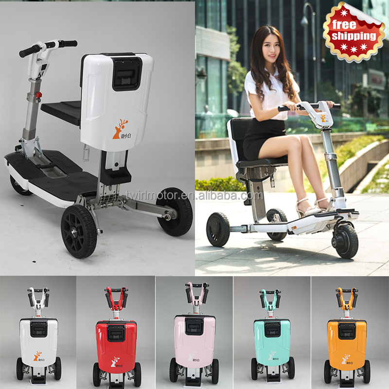 Fashion Transformable foldable <strong>electric</strong> mobility scooter for disabled