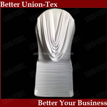 200gsm poly spandex ruffled with a drape banquet chair cover