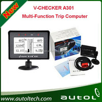 2015 Newest Arrival Promotion In July V-CHECKER VCHECKER A301 Multi-Function Trip Computer