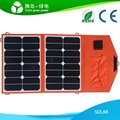 30W HIGH QUALITY outdoor portable solar panel folding solar charger double USB for mobile phone, laptop and ipad