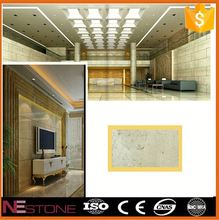 Interior design round pyramid beige marble for Borders and Floor Tiles and Wall Tiles
