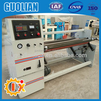 GL-806 Automatic aluminum foil , stretch film tape rewinding machine