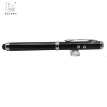 Wholesale laser pointer 3 in 1 metal stylus laser pointer ball pen