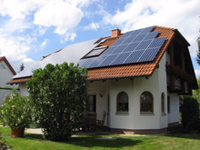 High-efficiency on-grid Solar System flat panel high efficiency home energy solar system 5kw