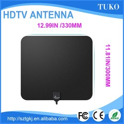 2016 Best selling low price free assembling hdtv antennas isb-t omni dvb-t tv antenna with f connector