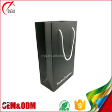Alibaba Best price logo printing recyclable shopping paper bag