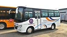 Right Hand Drive Diesel mini bus 16-20 seats best selling in Africa