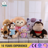 OEM & ODM Cheap Price Strong Monkey Stuffed Toys Children Dolls Cute Plush Monkey Toy