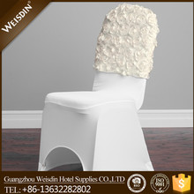 Guangzhou wholesale polyester spandex chair cover caps for banquet chair